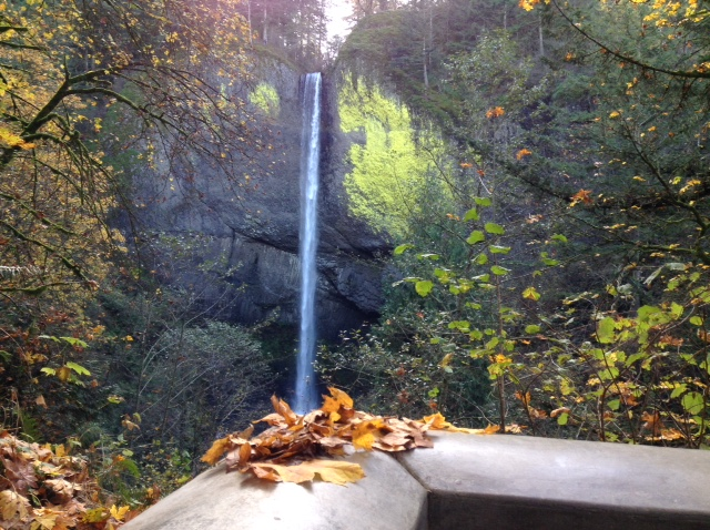 Latourell Falls — Photo by Jim Cockrell